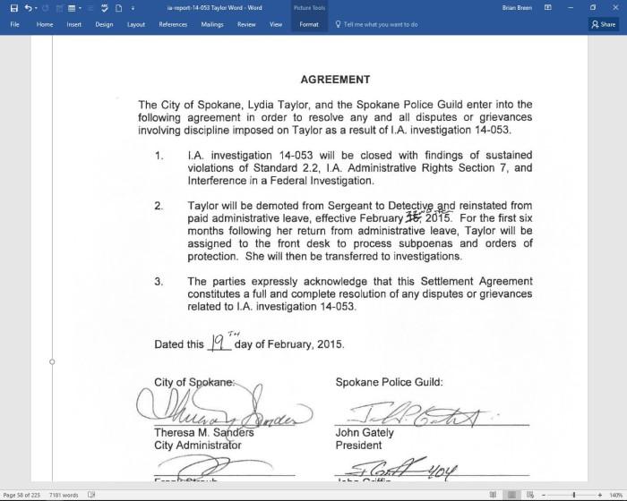 Lydia Agreement 1