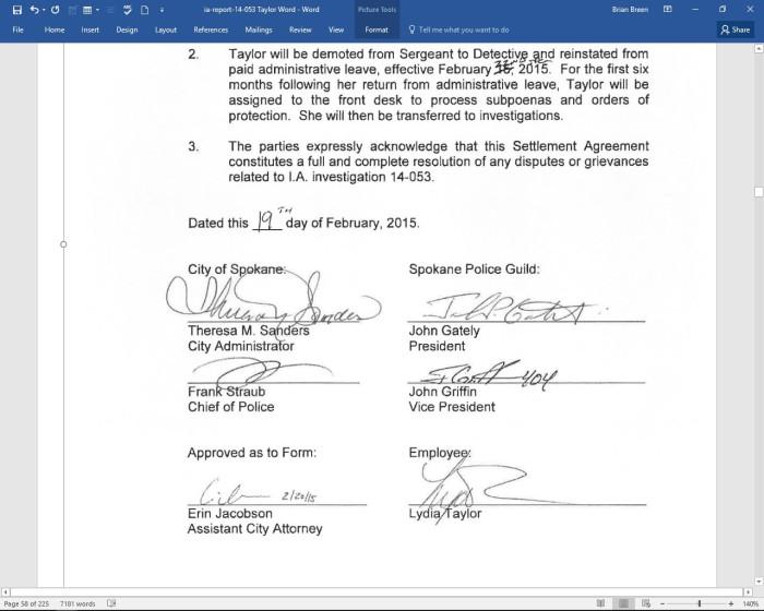 Lydia Agreement 2