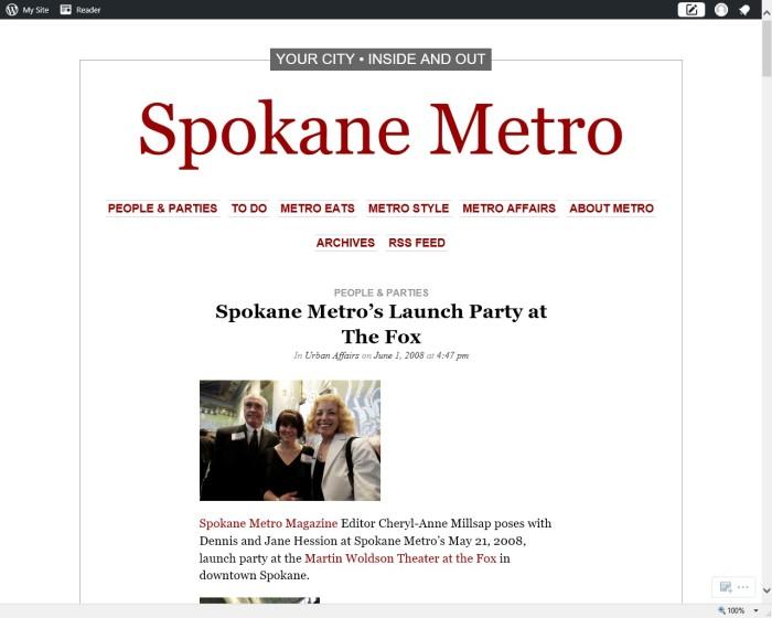 Metro Party 1