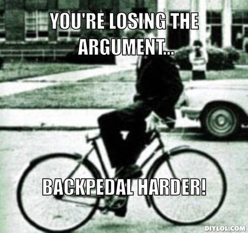 Back Pedal Harder