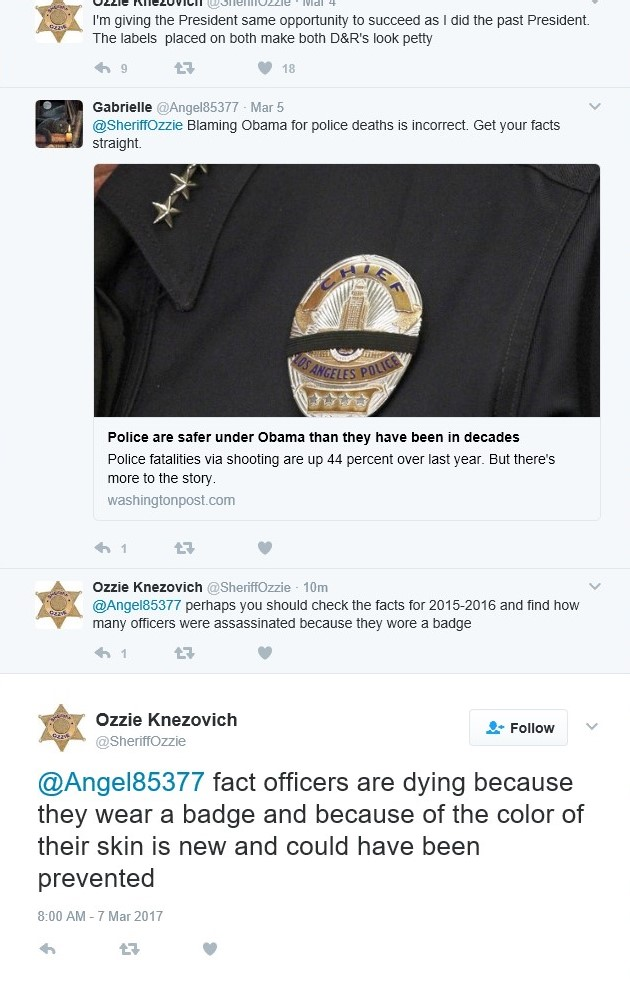 Ozzie Fact Officers are dying