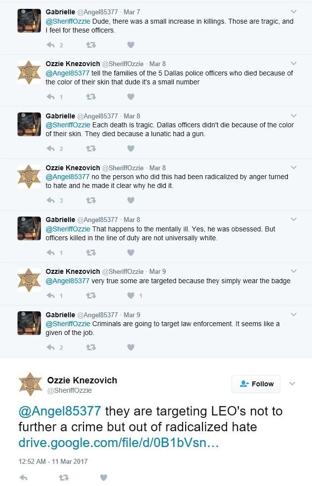 Ozzie radicalized hate