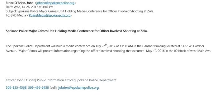 Zola Press Conference