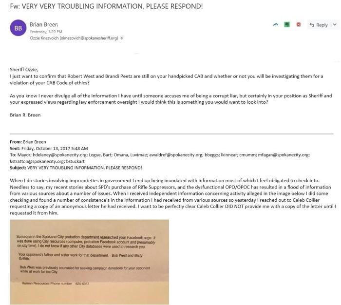Ozzie email