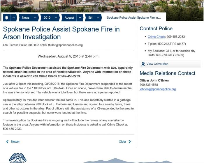 Arson Investigation 1