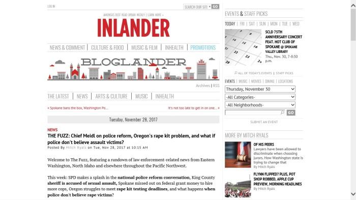 Inlander The Fuzz