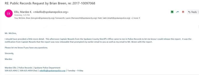 Ellis email McGinn