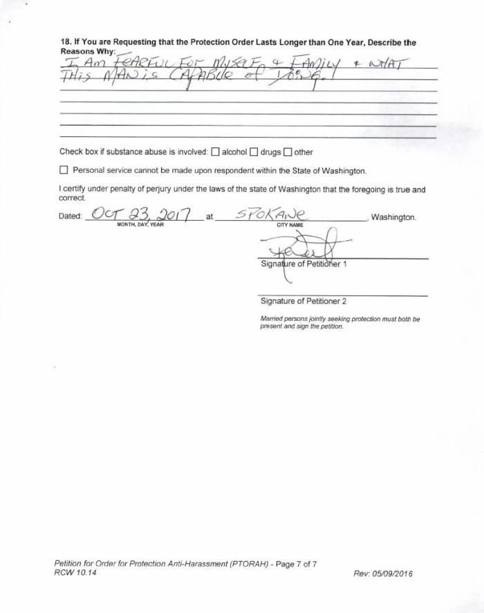 West TPO signature