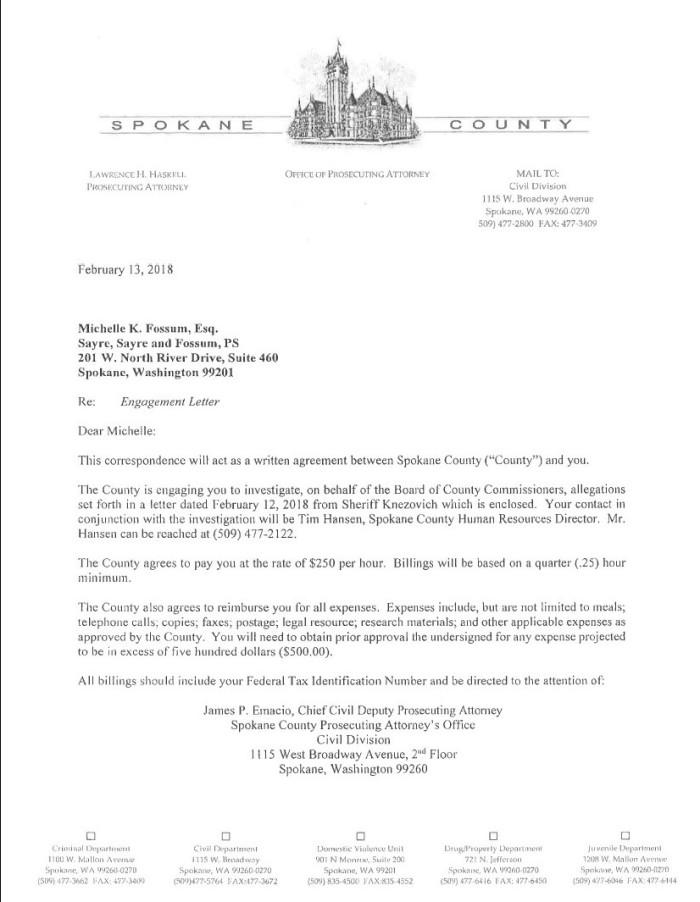 Fossum Engagement Letter 1
