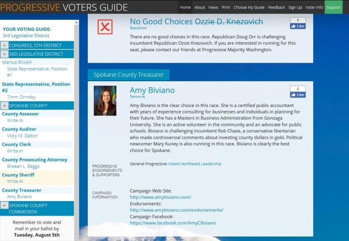 Biviano Progressive Voters Guide