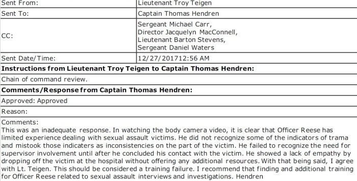 Captain Tom Hendren