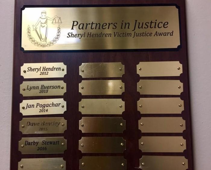 Sheryl Hendren Award